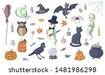 set of various vector... | Shutterstock .eps vector #1481986298