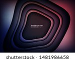 abstract background. modern... | Shutterstock .eps vector #1481986658