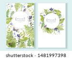 watercolor highly detailed... | Shutterstock . vector #1481997398