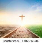 Jesus Cross Concept  Way...