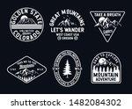 vector set of wilderness and... | Shutterstock .eps vector #1482084302