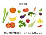 fiber food set. beans and... | Shutterstock .eps vector #1482126722