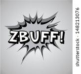 comic book explosion bubble ... | Shutterstock .eps vector #148213076