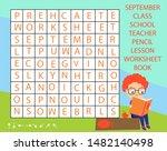 educational game for children.... | Shutterstock .eps vector #1482140498