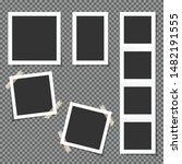 photo frames isolated on... | Shutterstock .eps vector #1482191555