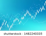 stock market and exchange.... | Shutterstock .eps vector #1482240335