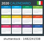 vector template of color 2020... | Shutterstock .eps vector #1482241538