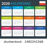 vector template of color 2020... | Shutterstock .eps vector #1482241568