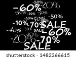 pattern with offers  discount...   Shutterstock .eps vector #1482266615