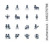 businessman related vector icon ... | Shutterstock .eps vector #1482270788