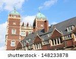 Philadelphia, Pennsylvania (United States) - Pennsylvania State University (Penn State). Quadrangle architecture.