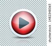 play arrow button sign... | Shutterstock .eps vector #1482348365