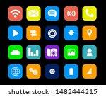concept for mobile apps  flat... | Shutterstock .eps vector #1482444215