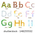 letters a i as a symbol of a...