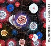 abstract seamless vector... | Shutterstock .eps vector #1482607865