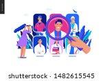 find a doctor  medical... | Shutterstock .eps vector #1482615545