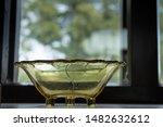 Vintage Golden Transparent Han...