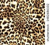 Leopard Skin Texture Seamless...
