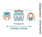 election concept icon....   Shutterstock .eps vector #1482698282