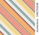 template seamless abstract... | Shutterstock .eps vector #1482702638