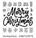 christmas quotes. winter xmas...   Shutterstock .eps vector #1482719975