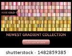 rose gold metal gradient... | Shutterstock .eps vector #1482859385