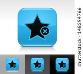 star icon set. blue color...