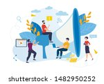 informational banner webinar... | Shutterstock .eps vector #1482950252