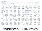 set of vector line icons of... | Shutterstock .eps vector #1482996992