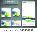 professional corporate identity ... | Shutterstock .eps vector #148300952