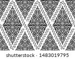 vector seamless pattern in... | Shutterstock .eps vector #1483019795