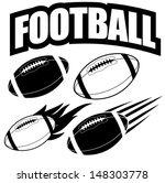 american football design... | Shutterstock .eps vector #148303778