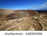 vulcanic timanfaya  rock stone...   Shutterstock . vector #148304306