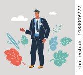 cartoon vector illustration of...   Shutterstock .eps vector #1483049222