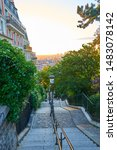 Famous Staircase At Montmartre...