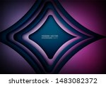 abstract background. modern... | Shutterstock .eps vector #1483082372