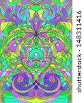 digital artwork ethnic style | Shutterstock . vector #148311416