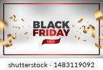 black friday sale vector design.... | Shutterstock .eps vector #1483119092