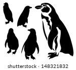raster   cute penguin... | Shutterstock . vector #148321832