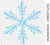 big complex translucent... | Shutterstock .eps vector #1483271252