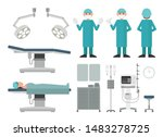 flat vector collection of...   Shutterstock .eps vector #1483278725