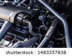 a lot of parts in the car... | Shutterstock . vector #1483357838