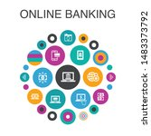 online banking  infographic...