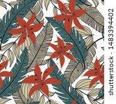 trending abstract seamless... | Shutterstock .eps vector #1483394402