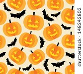halloween background with... | Shutterstock .eps vector #148342802