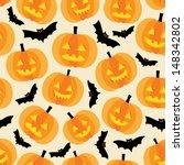 halloween background with... | Shutterstock .eps vector #148342802