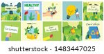 vector illustration eco... | Shutterstock .eps vector #1483447025