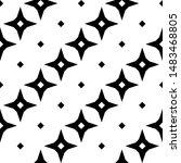 seamless pattern.cross shapes... | Shutterstock .eps vector #1483468805