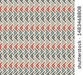 ethnic  tribal seamless surface ... | Shutterstock .eps vector #1483468808