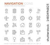 collection of navigation...